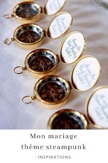 inspirations et idées pour un mariage thème steampunk blog mariage unjourmonprinceviendra26.com