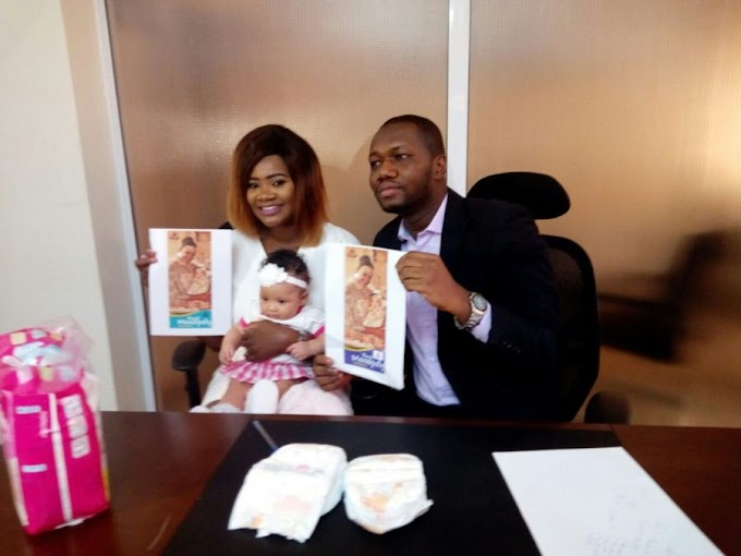Kafui Danku's Daughter Baby Lorde Unveiled As Brand Ambassador For Royal Monopoly Diapers