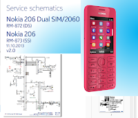 Schematic diagram nokia 206