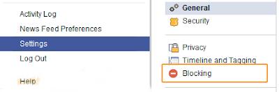 Kadang dikala menentukan untuk memblokir akun seseorang di Facebook dikala kita mnegetahui o Cara Memblokir Akun Facebook Teman Via PC