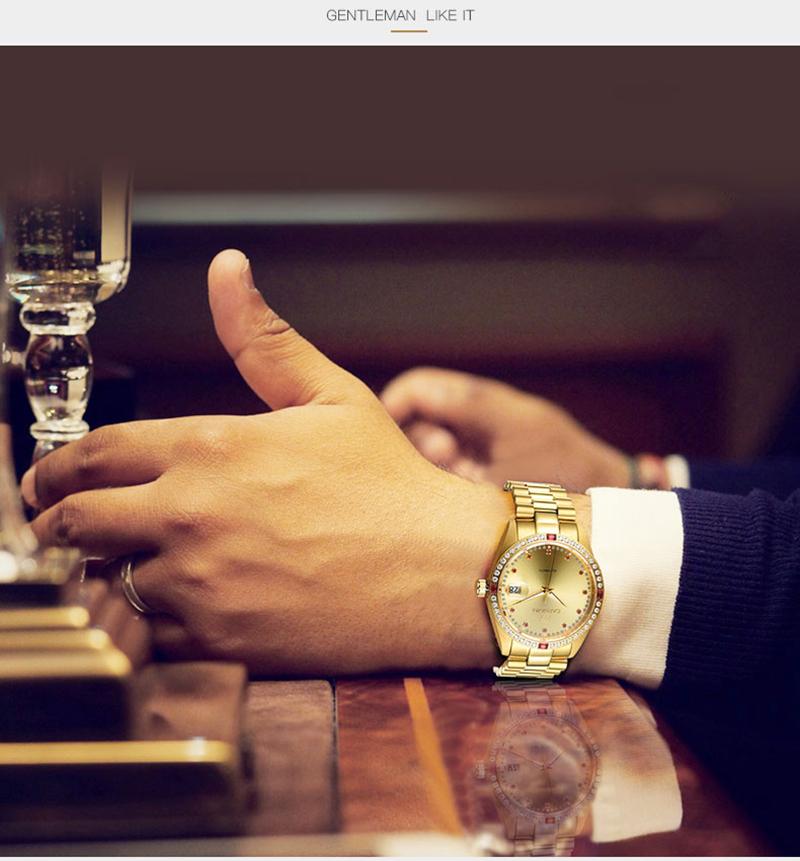 đồng hồ vàng dây thép