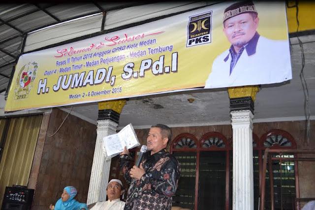 Reses Jumadi, Pemko Medan Diminta Evaluasi Program Magrib Mengaji