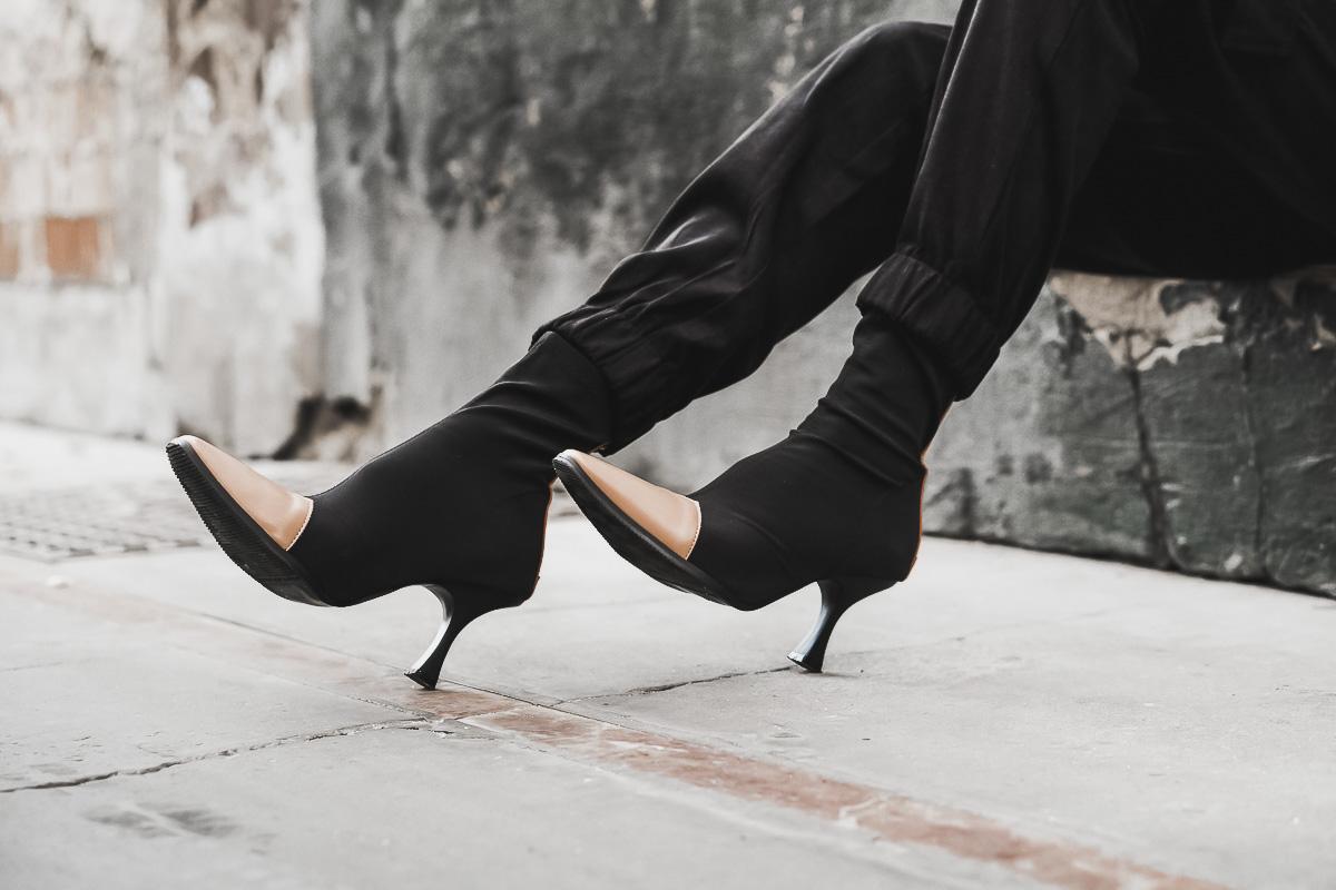celine socks boots