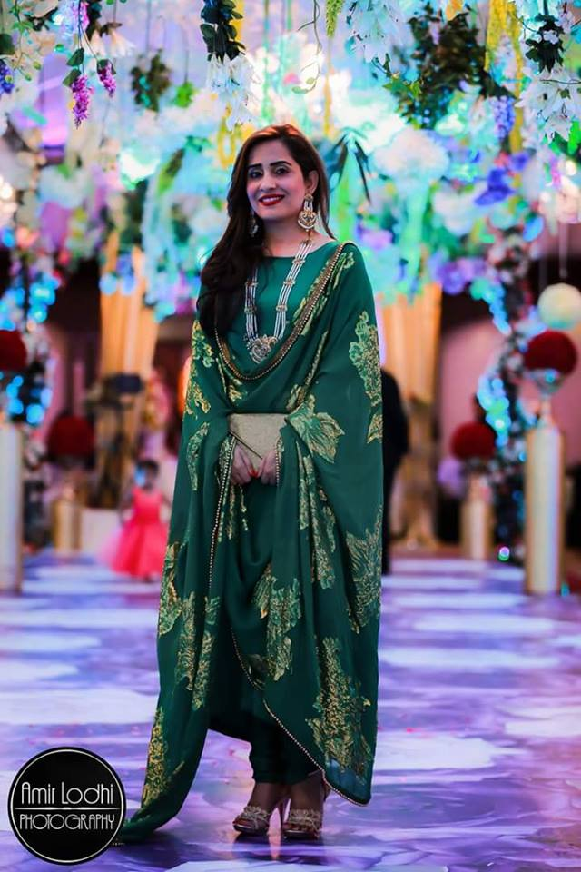 Pak Celeb Pic's: Sabreen Baloch Sister Of Sanam Baloch Looking