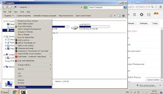 Cara manual Mengembalikan File Yang Terhapus Permanen