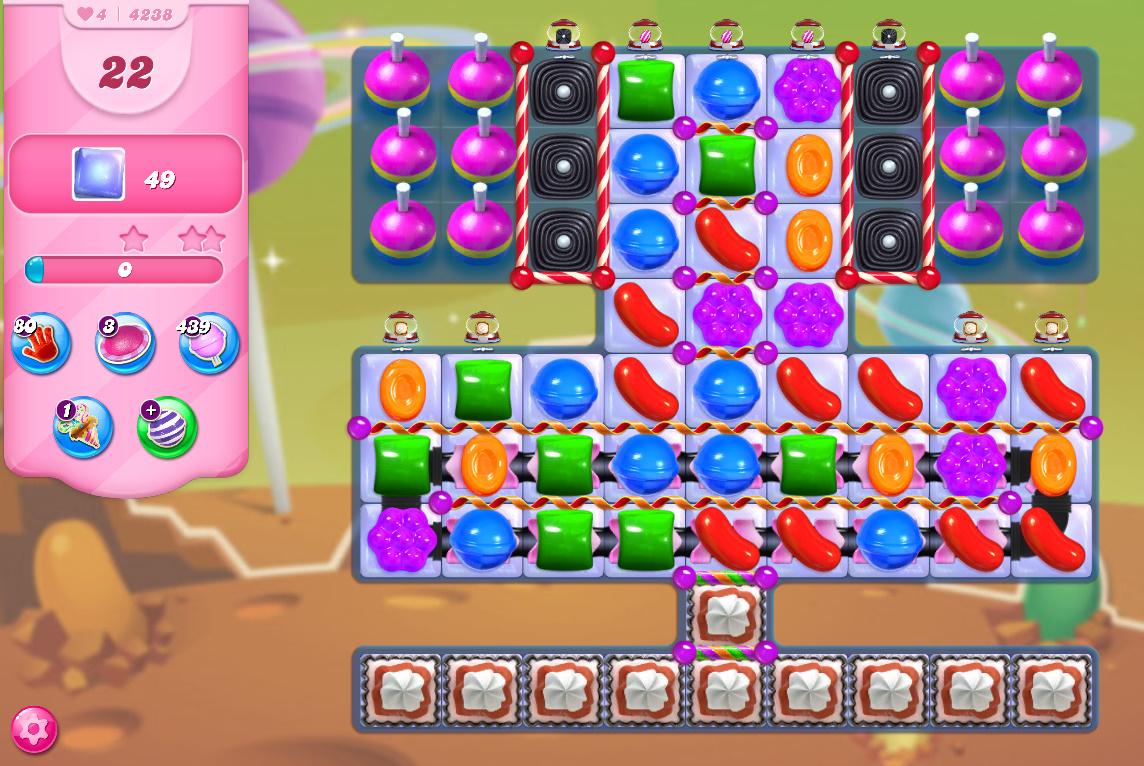 Candy Crush Saga level 4238