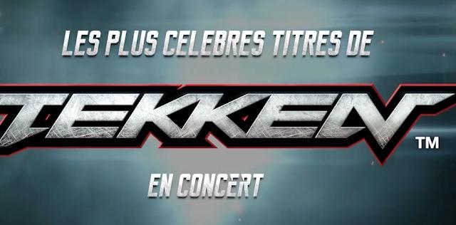 La música de TEKKEN se suma a la Orchestral Memories de París 1