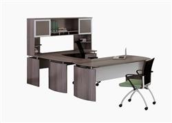 Gray Office Desk