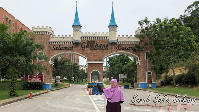 Penginapan 3 Hari 2 Malam di Arabian Bay Resort, Bukit Gambang