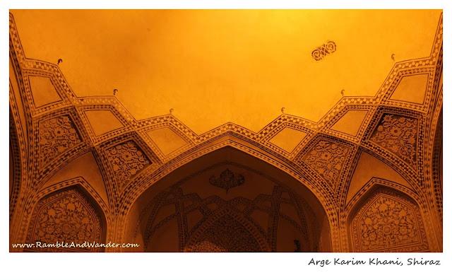 Iran: The Citadel of Arge Karim Khani, Shiraz - Ramble and Wander