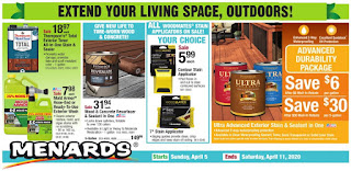 ⭐ Menards Ad 4/5/20 ⭐ Menards Weekly Ad April 5 2020