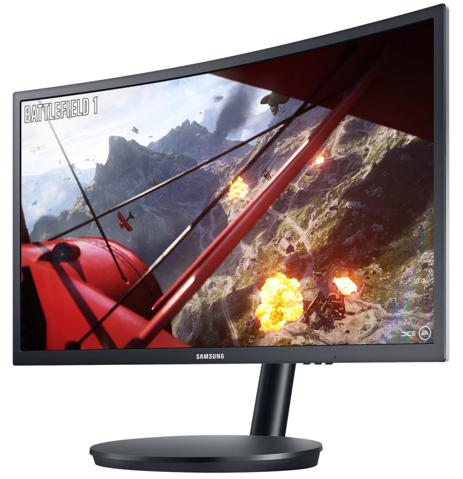 Samsung Quantum Dot CFG70 Curved Monitor advantages