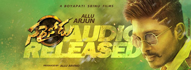 Watch Sarrainodu Theatrical Trailer starring Allu Arjun , Rakul Preet , catherine teresa directed by Boypathi Sreenu, Music by SS Thaman from the house of Geethaarts
