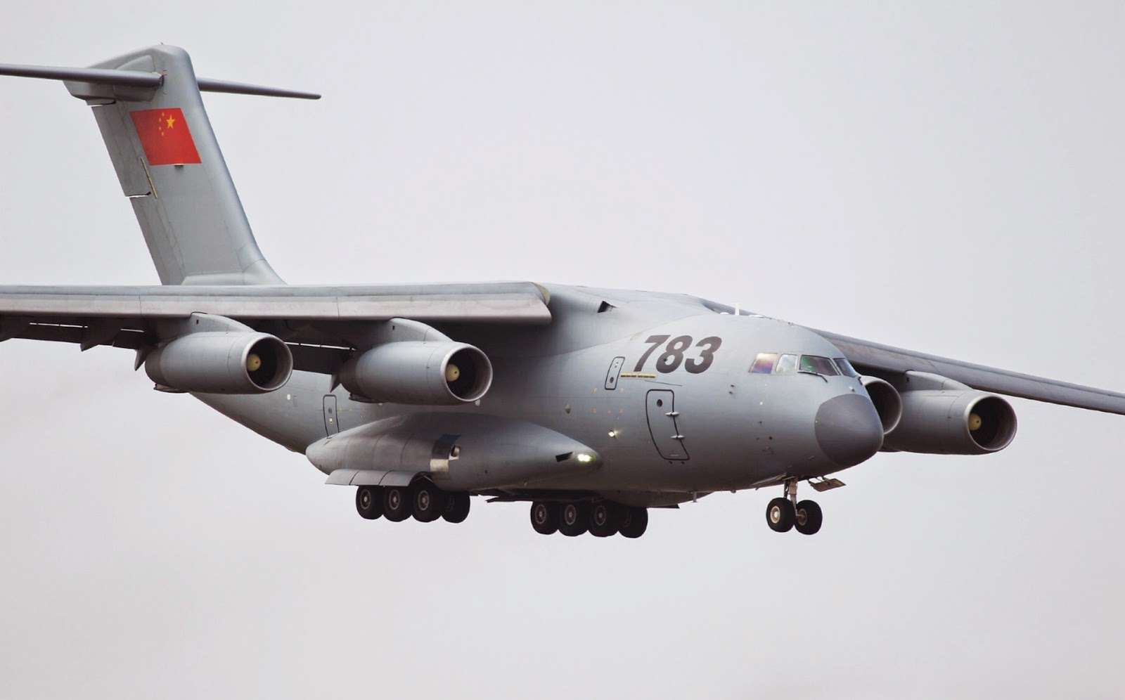 Y-20 Strategic Military Transport Aircraft Arrives For ...