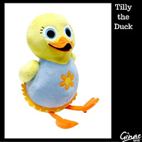 BabyFirstTV Tillie the Duck Plush - 13""