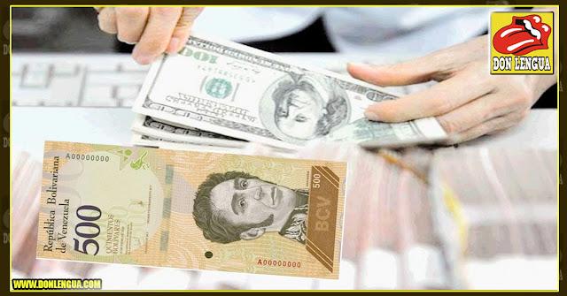 El billete más alto de Venezuela vale menos de un dolar DICOM