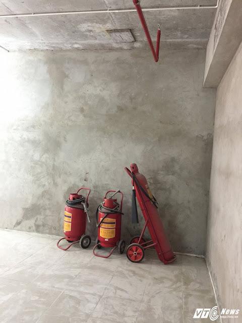 Sai phạm về phòng cháy chữa cháy tại Thăng Long Victory