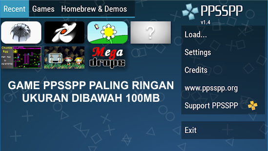 download game iso ppsspp size kecil