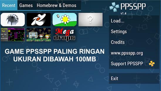 download game ppsspp iso ukuran ringan