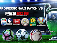 PES 2016 PES Professional V5 Option File by LandonG