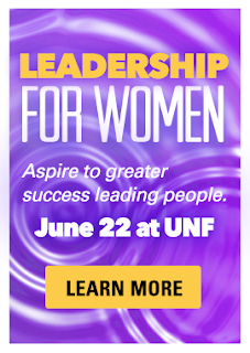 UNF Leadership for Women - Click to learn more.
