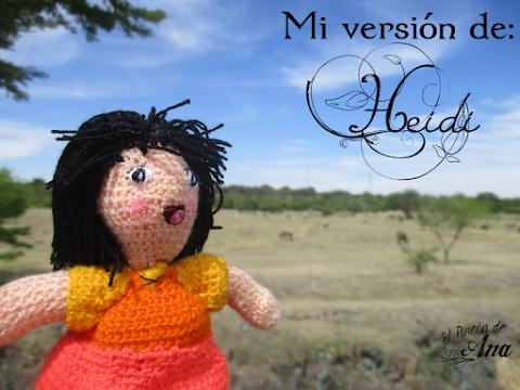 Amigurumi Heidi - Mi versión