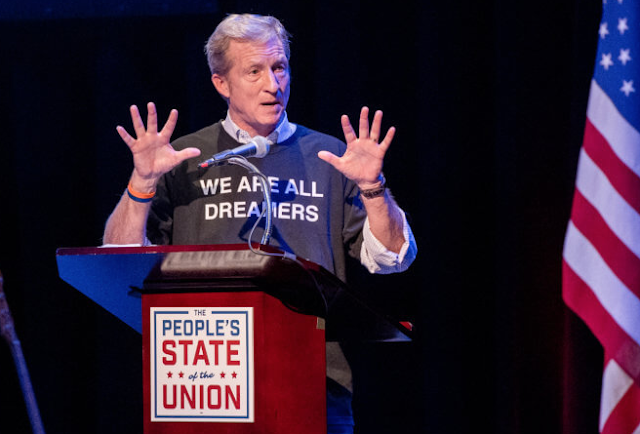 Tom Steyer Has Hired 50 Political Communications Operatives