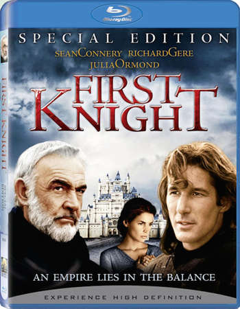Poster Of First Knight 1995 Dual Audio 400MB BRRip 480p Free Download Watch Online