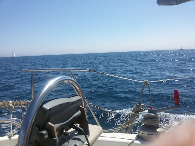 Sailing to the Algarve