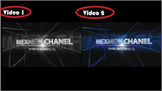 Cara Menggabungkan 2 Video Kedalam 1 Video - hasil edit