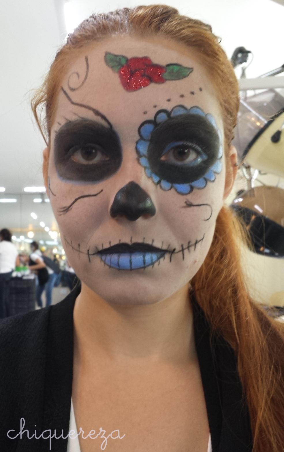 maquiagem caveira mexicana, curso senac maquiador profissional