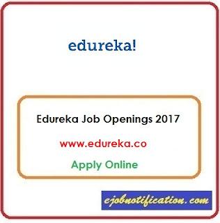 Edureka Hiring Freshers Testing Engineer jobs in Bangalore Sep'2017 Apply Online