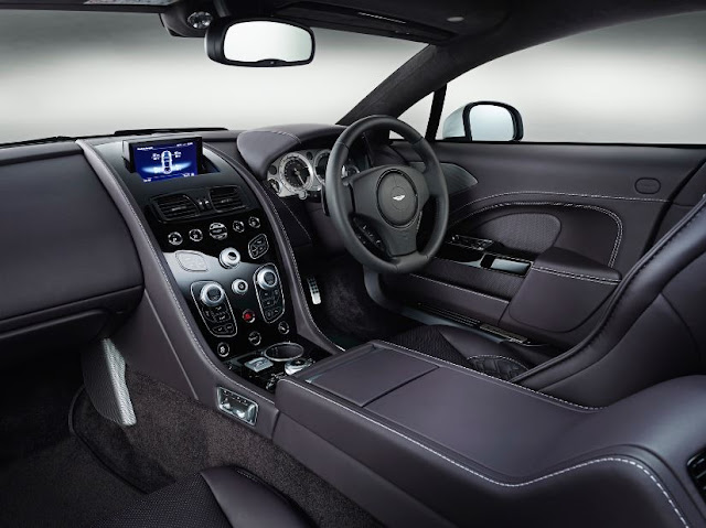 2017 Aston Martin Rapide S Interior