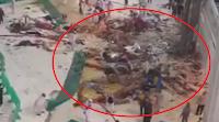 Detik Detik Jatuhnya Crane di Makkah