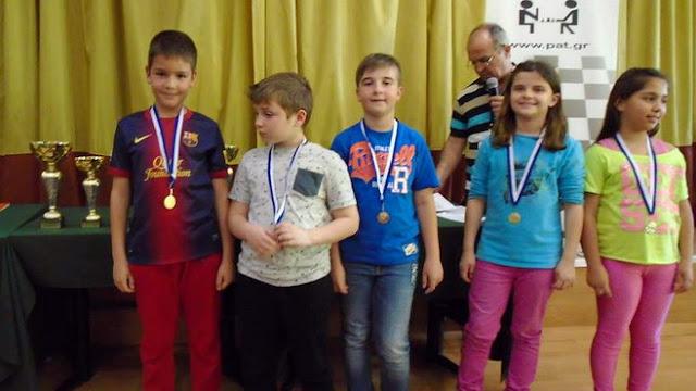 Χρυσές επιτυχίες από τους μικρούς σκακιστές του Εθνικού Αλεξανδρούπολης σε διεθνή τουρνουά