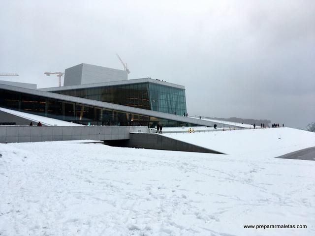 la Ópera de Oslo