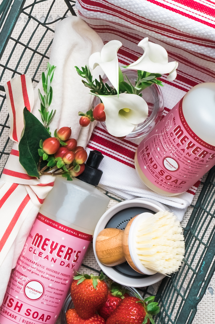 Make Your Home Smell Like the Holidays  (+How to get free Mrs. Meyer's products!)