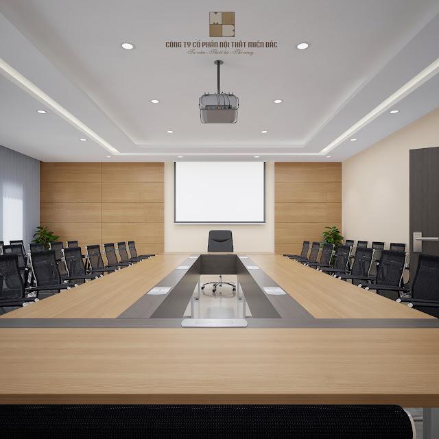 Tư vấn thiết kế phòng họp phù hợp với quy mô doanh nghiệp