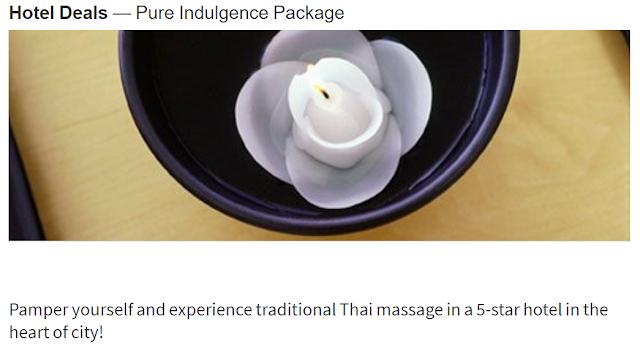 入住泰國曼谷蘇克哈姆維特公園萬豪行政公寓 Sukhumvit Park, Bangkok - Marriott Executive Apartments 免費體驗60分鐘傳統泰式按摩服務(12/20前)