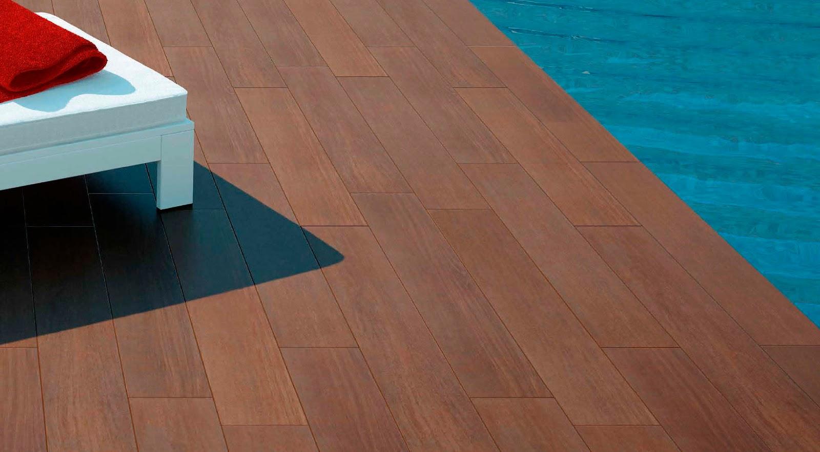 Para los suelos madera o cer mica - Suelo de madera exterior ...