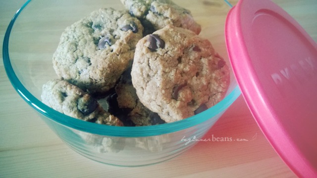 soft and chewy, oatmeal cookies