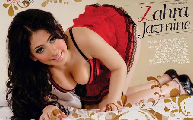 Zahra Jasmine Presenter Seksi Ghost Hunter