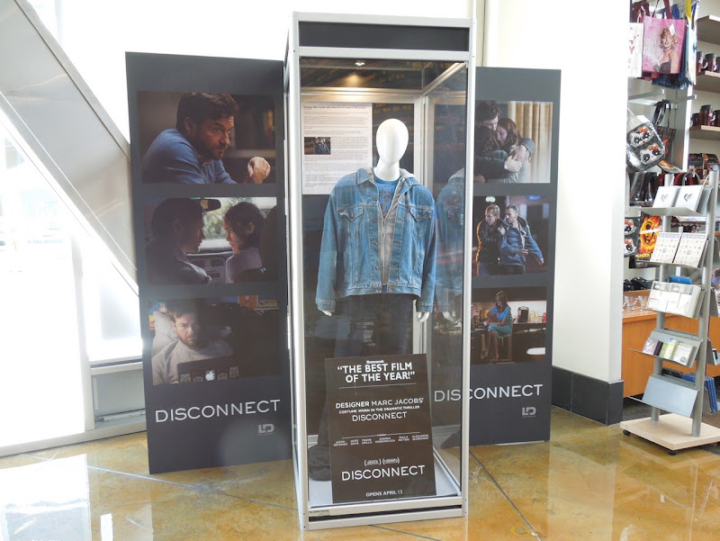Disconnect movie costume exhibit