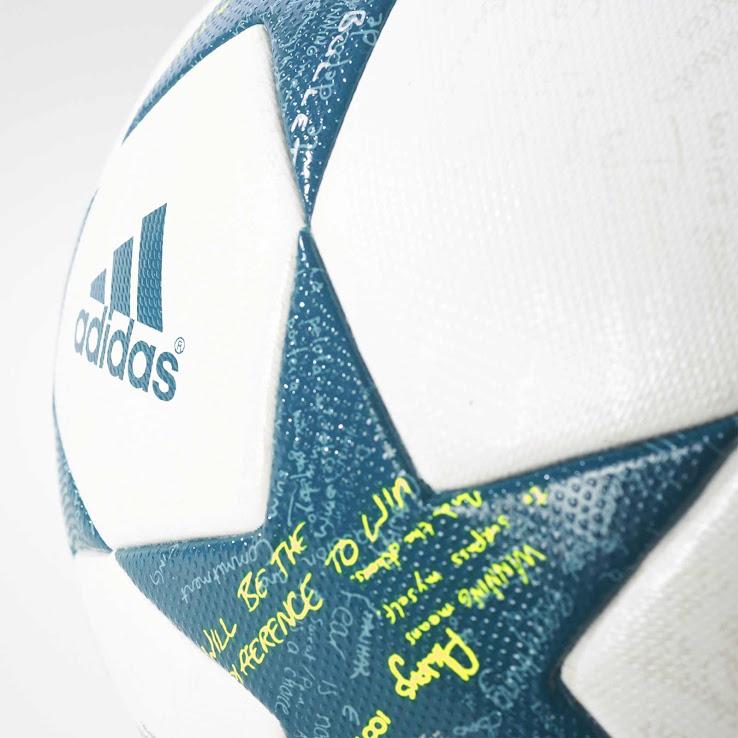 Nueva pelota adidas para la Champions League