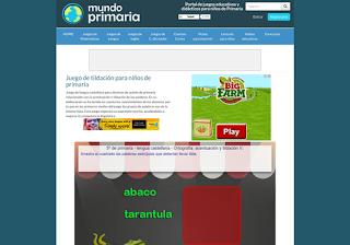 http://www.mundoprimaria.com/juegos-lenguaje/juego-diptongos/