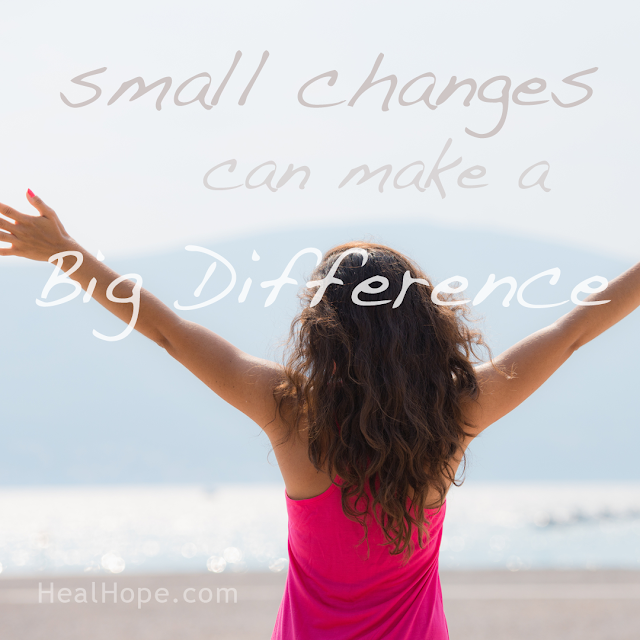 Inspirational Quote: Small Changes can make a Big Difference