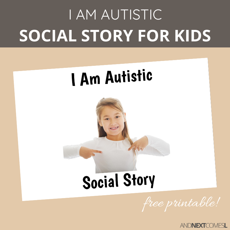 graphic relating to Free Printable Social Stories identify Totally free Printable Social Tale More than Autism And Subsequent Arrives L