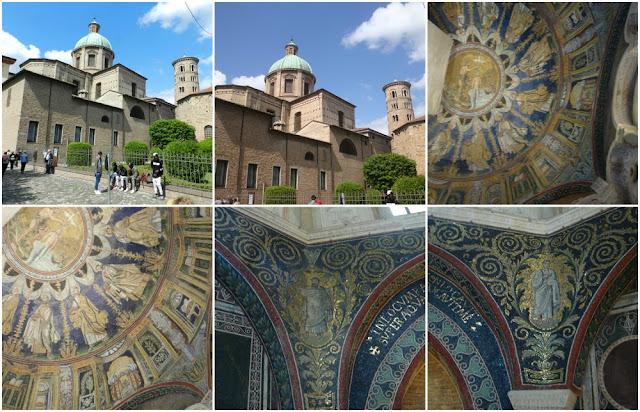Os mosaicos de Ravenna (Itália) - Batistério Neoniano e catedral de Ravenna