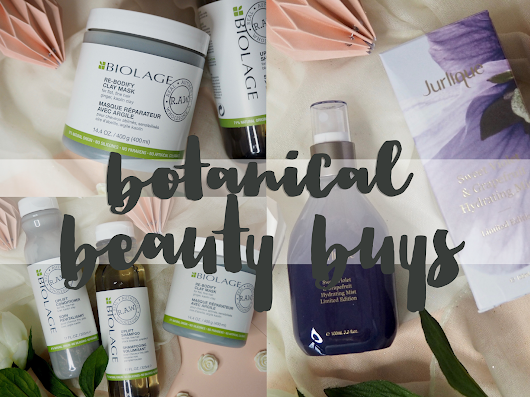 Botanical beauty buys from thehut.com