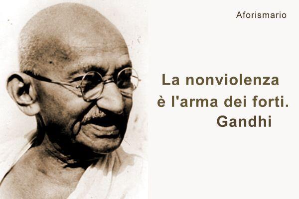 Frasi Di Gandhi Sulla Pace
